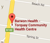 Map Thumbnail Tourquay Community Health Centre